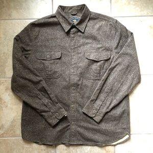 Other - 🔥 Vintage Speckled Brown Button Up